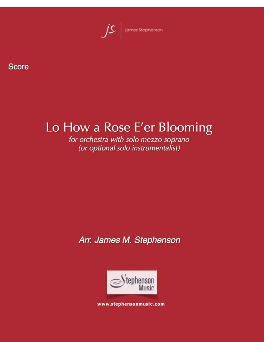 LO, HOW A ROSE EER BLOOMING